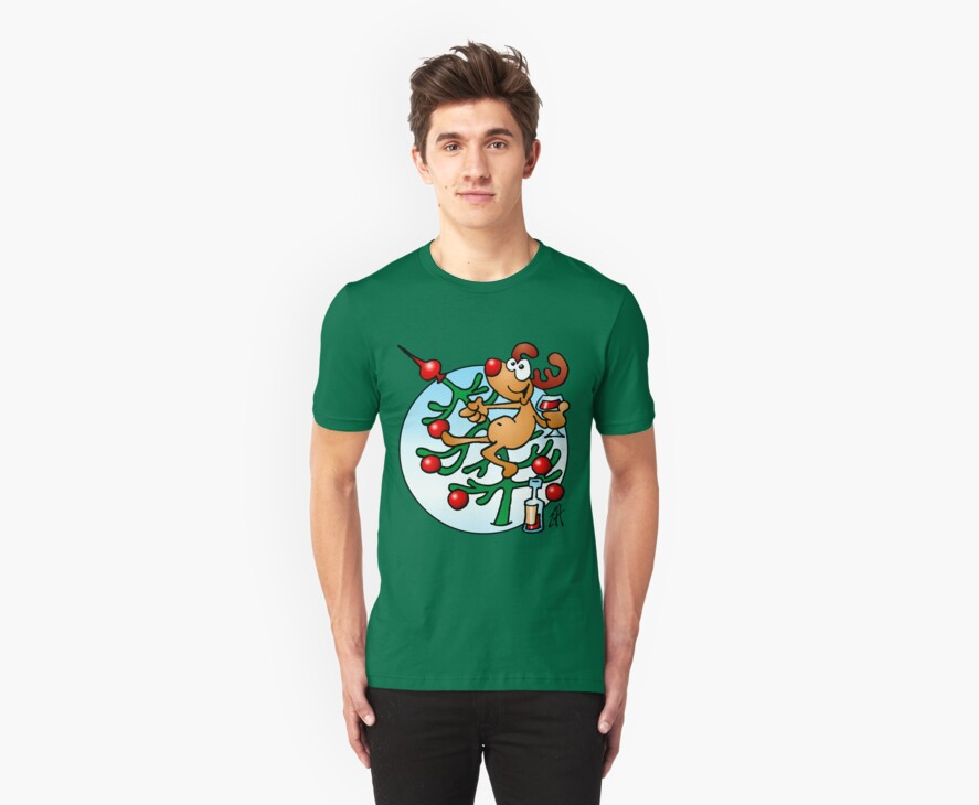Rudolph the Red Nosed Reindeer by cardvibes