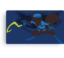Sly Cooper (Sunset Shores) Canvas Print