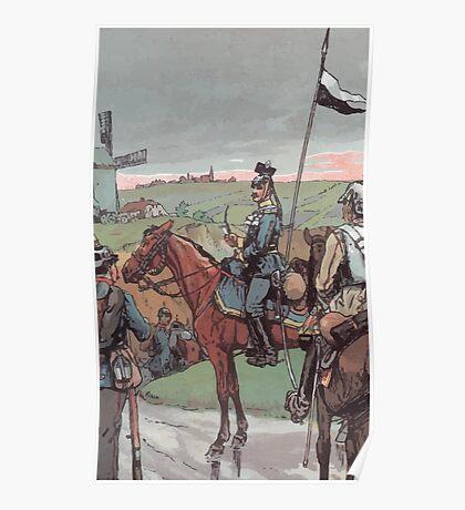 Richard Knötel Gelber Ulan Poster