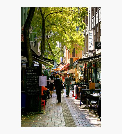 Hardware Lane at Lunchtime Photographic Print