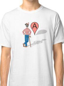 Here Is Waldo Classic T-Shirt