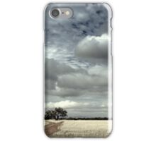 A Tree In A Field iPhone Case/Skin