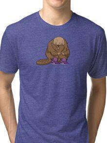 Bieber Beaver Tri-blend T-Shirt