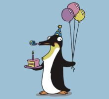 Party Time Penguin by killerpeapods
