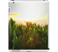 Sunrise greenery iPad Case/Skin
