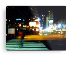 Ghost on the Times Square Metal Print