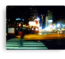 Ghost on the Times Square Canvas Print