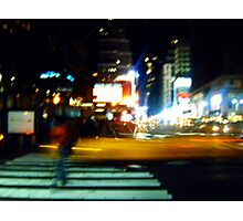Ghost on the Times Square Photographic Print
