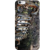 Old Rusted California Neon Signs... iPhone Case/Skin