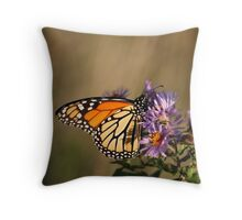 Sunset on Monarch Throw Pillow
