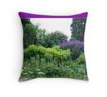 Flowers of Summer Throw Pillow