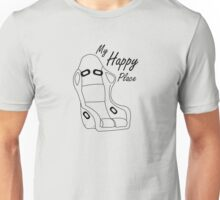 bucket seat happiness  Unisex T-Shirt