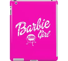 Barbie girl  iPad Case/Skin