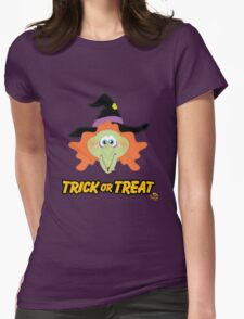 Witch Trick or Treat Womens Fitted T-Shirt