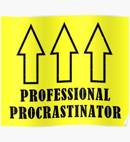 Professional Procrastinator Poster