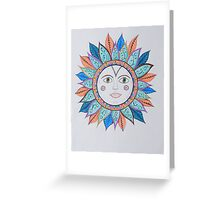 Sun Faces/3 - Whimsy Greeting Card