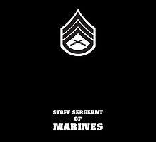 USMC E6 SSgt BW by Sinubis