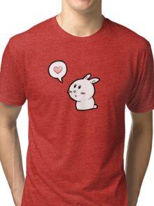 but I love you Tri-blend T-Shirt