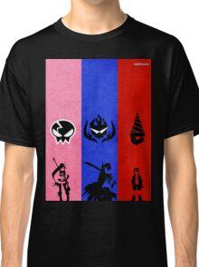 Gurren Lagann - Yoko, Kamina, and Simon Classic T-Shirt