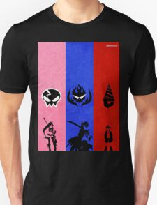 Gurren Lagann - Yoko, Kamina, and Simon Unisex T-Shirt