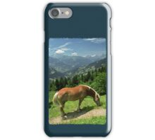 Horse at Kristberg (iPhone case) iPhone Case/Skin