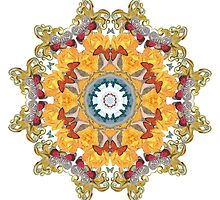 Octopus' Garden Mandala by Jamila Tazewell