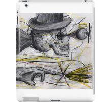 A Machine Was Invented out of the Dust and Dirt iPad Case/Skin