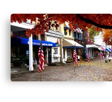 Election Day at Granville Canvas Print