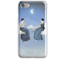 Wind, Clouds and Tea iPhone Case/Skin