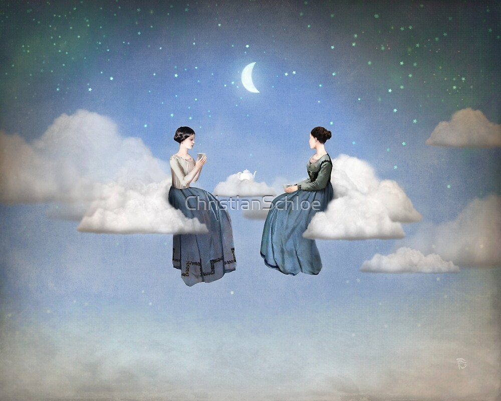 Wind, Clouds and Tea by ChristianSchloe
