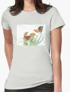 Soaring Wings Womens Fitted T-Shirt