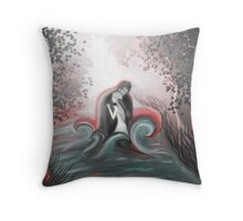 The Swan Curse - SwanFire Throw Pillow
