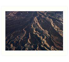 Mountain Abstract III Art Print