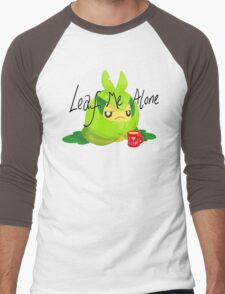 Leaf Me Alone Men's Baseball ¾ T-Shirt