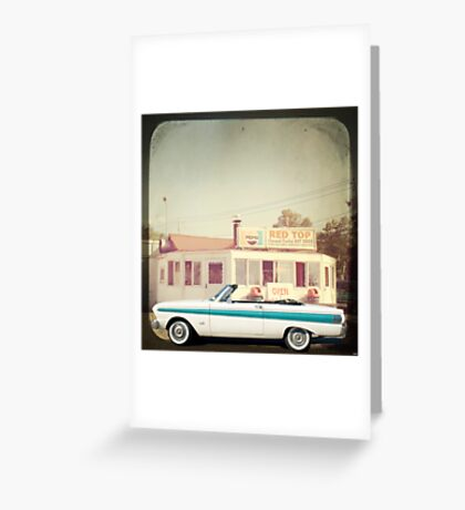 September - Drive in Greeting Card