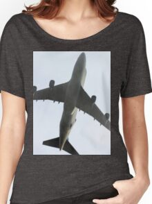 Ted New Jet In The Fog  Women's Relaxed Fit T-Shirt