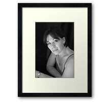 PORTRAIT PHOTO #1 Framed Print