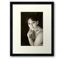 PORTRAIT PHOTO #2 Framed Print