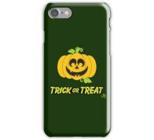 Jack O' Lantern Trick or Treat iPhone Case/Skin