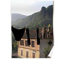 Monistrol - Pilgrims' clothesline Poster