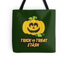 Jack O' Lantern Trick or Treat Stash Tote Bag