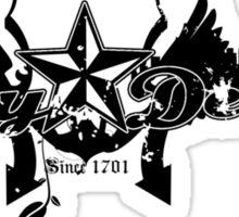 Enjoy Detroit - Decay, black Sticker