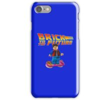 Brick to the Future with Marty Mcfly iPhone Case/Skin