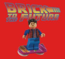 Brick to the Future with Marty Mcfly Kids Clothes