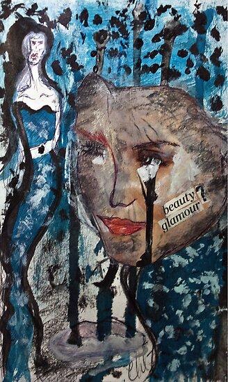 Idealized Blues of Mine... by Christina Rodriguez