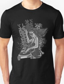 Sexy Hot DJ Gray T-Shirt
