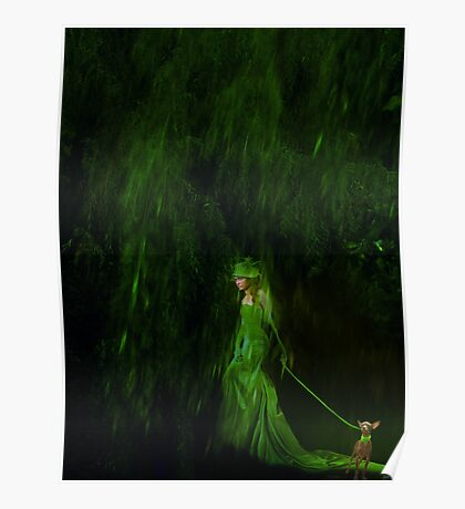 Stroll Into Green Poster