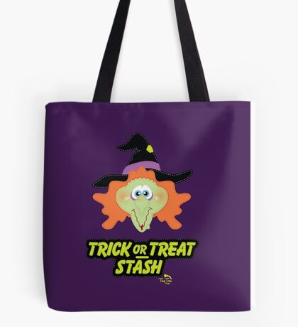 Witch Trick or Treat Stash Tote Bag