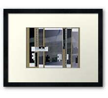 Blue Blood Out of a Stone Framed Print