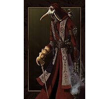 Plague Doctor Photographic Print